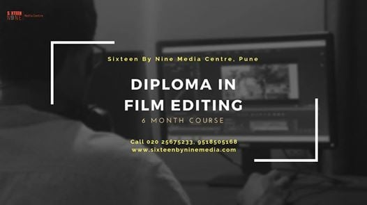Diploma In Film Editing - 6 Month Regular Course