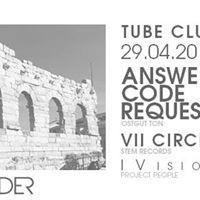 Preview MUTAFORMA Festival  ANSWER CODE REQUEST - VII CIRCLE - iVISION  29 Aprile 2017  Modena