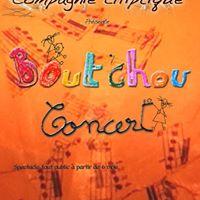 Boutchou concert  partir de 6 mois