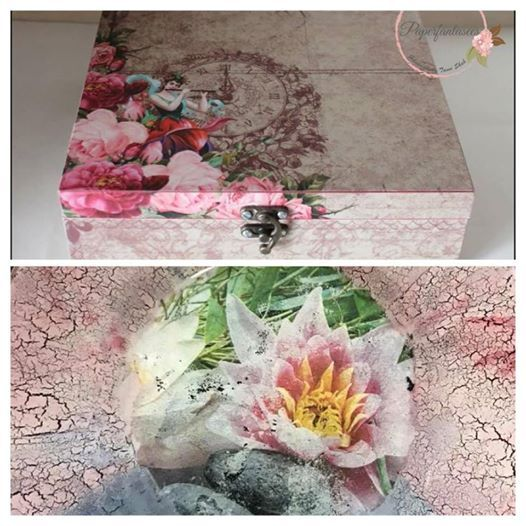 Decopuage Workshop on MDF and Reverse Decoupage on Glass
