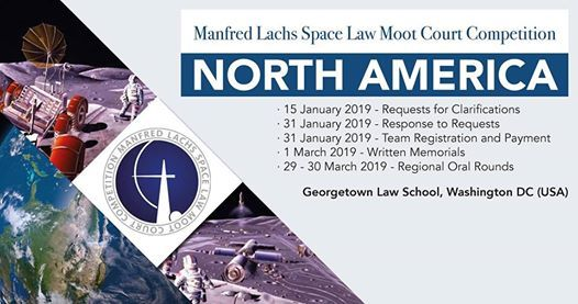 North America - Manfred Lachs Space Law Moot Court Competition