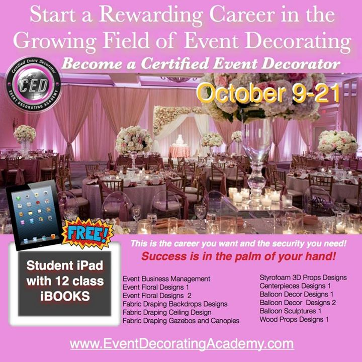 Certified Event Decorator Hollywood