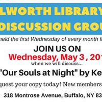Kenilworth Book Discussion Our Souls at Night by Kent Haruf
