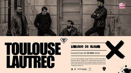 Toulouse Lautrec Live  Lansare de Album  Control