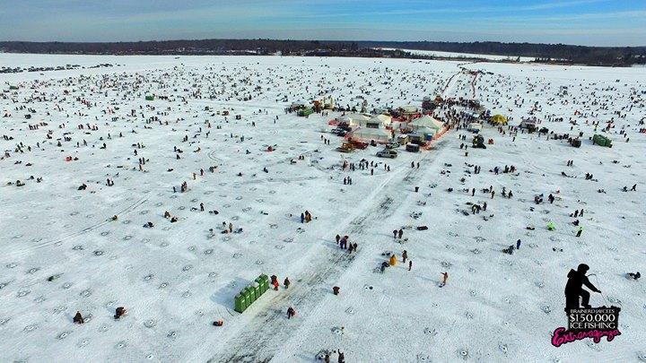 27th annual brainerd jaycees ice fishing extravaganza for Brainerd ice fishing