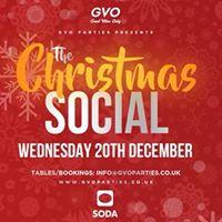 The Christmas Social  Soda
