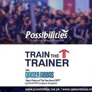 Train The Trainer with Qaiser Abbas.
