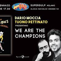 Tuono Pettinato e Dario Moccia a Supergulp Milano