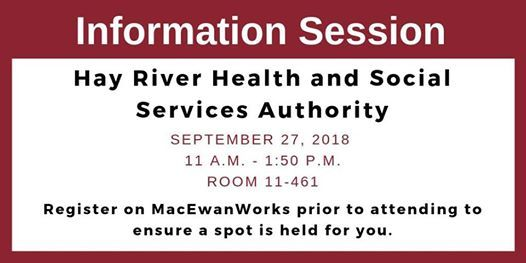 Hay River Health and Social Services Authority Info Session