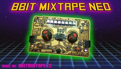 Prosto-vezje  Marc Dusseiller 8bit Mixtape NEO (delavnica)