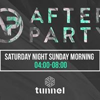 After-Party  Tunnel 4am-8am