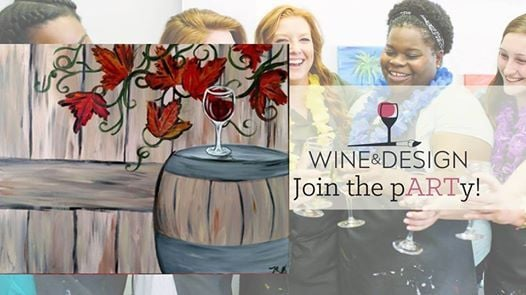 Paint Sip Fall Wine At Wine Design Southern Pines Nc Carolina