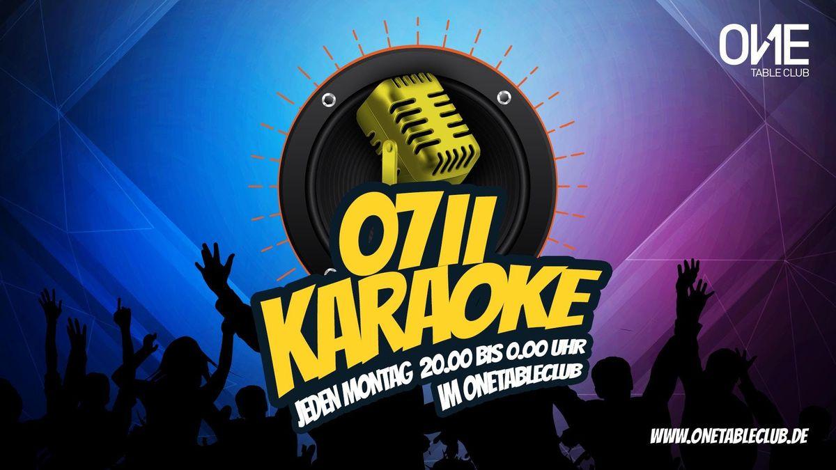 0711 KARAOKE-Party jeden Montag im OneTableClub