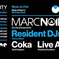 Music.Art.Ppl presents Marc Noir
