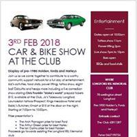 Car &amp bike show plus entertainment