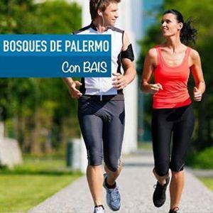 Jogging en Bosques de Palermo  BAIS Argentina