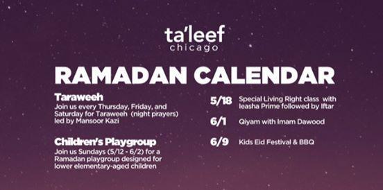 Ramadan Qiyam with Dawood Yasin at Ta'leef Chicago, Chicago