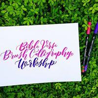 Bible Verse Brush Calligraphy Workshop