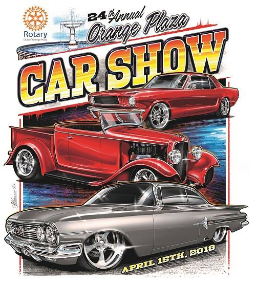 Th Annual Orange Plaza Car Show At Old Towne Orange Historic - Car show banners