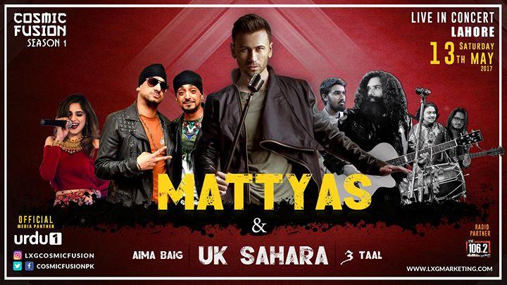 Mattyas & UK Sahara Live in Concert - Lahore