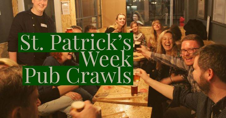 St. Patricks Week Pub Crawls Dublin