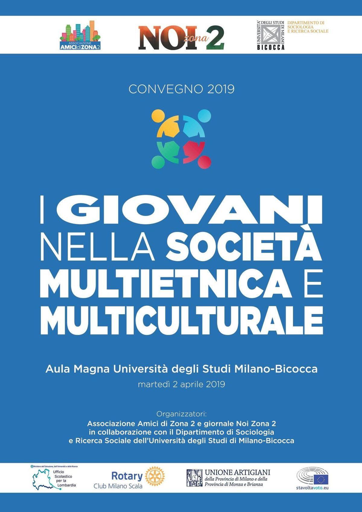 Convegno I giovani nella Societ Multietnica e Multiculturale