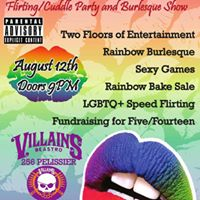 Rainbow Kisses - FlirtingCuddle Party &amp Burlesque Show