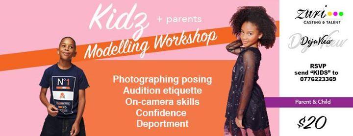 Kids  Parents Modelling Workshop