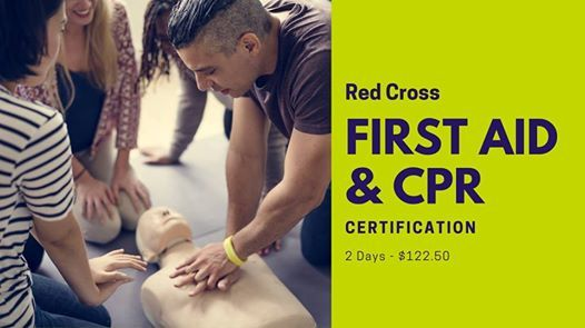 First Aid & CPR - Red Cross