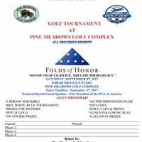 Folds of Honor Tournament at Pine Meadows