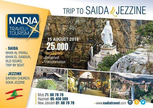 Trip to Saida & Jezzine