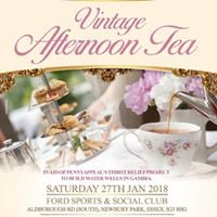Vintage Tea Party for Thirst Relief