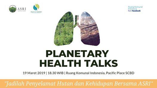 Planetary Health Talks - 1