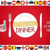 International Dinner  Cena Internazionale