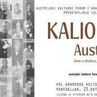Izloba Kaliope Austrija - ene u drutvu kulturi i nauci