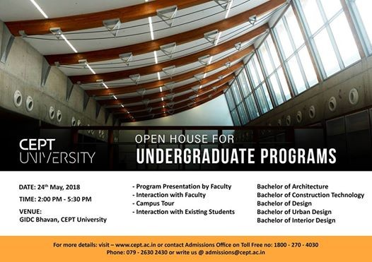 Open house for undergraduate programs