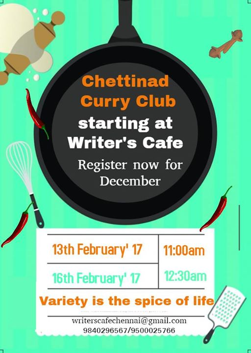 Chettinad Curry Class