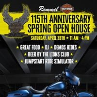115th Anniversary Spring Open House