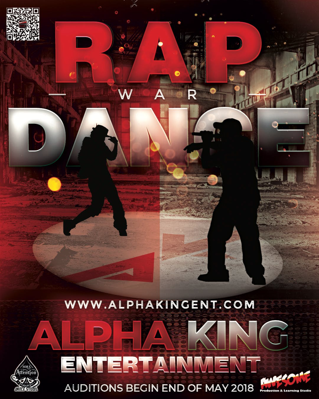 2018 Alpha King Rap and Dance Competition Auditions at
