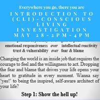 Intro-Conscious Living Investigation