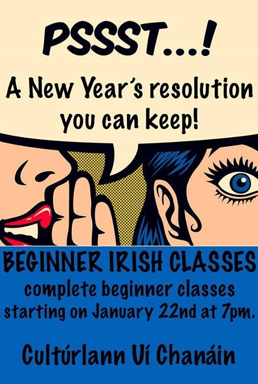 Irish Language class