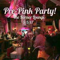Pre-Pink PartyShoe Auction Block Party