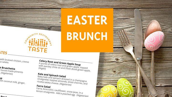 Easter Brunch at Taste