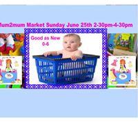 Mum2mum Market Stockport Hazel Grove.
