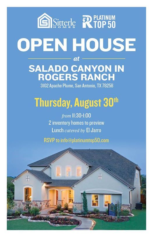 Salado Canyons Sitterle Homes Lunch and Preview