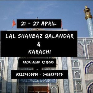 6 Days & 5 Nights Tour to Lal Shehbaz Qalandar and Karachi