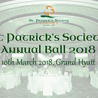 St Patricks Society Annual Ball 2018