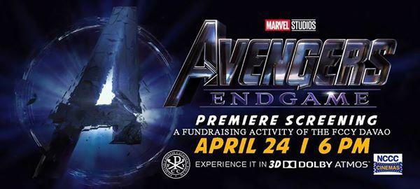 Avengers Endgame Premiere Screening