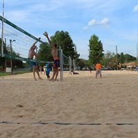Mens &amp Womens Sand Volleyball Doubles Tournament
