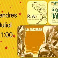 7 Juliol XXIV Mostra de Jazz Tortosa  Lo JaZzMAN (Bar Palauet)